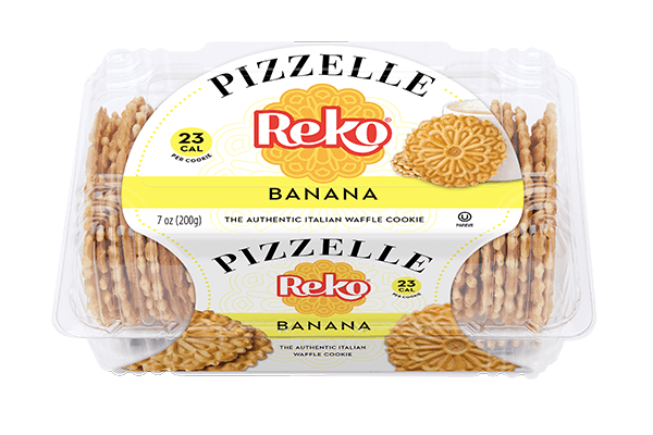 Pizzelle Banana