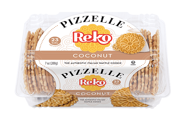 Pizzelle Coconut