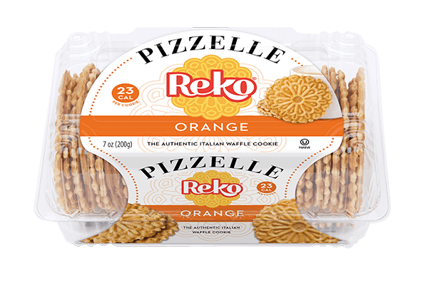 Pizzelle Orange